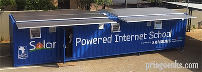 Solar Powered Internet School, Sekolah Internet Bertenaga Surya